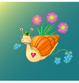 Mr Snail vector image