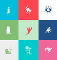 Mystic signs set vector image vector image