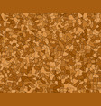 otlined agglomerated cork texture vector image