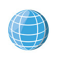 sphere web networking vector image