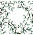 tree branches and leaves vector image vector image