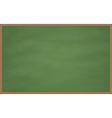 Blank Chalk Board vector image