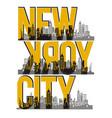 Retro new york city
