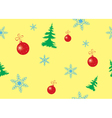 seamless color texture for christmas vector image vector image