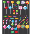 Sweets candy set vector | Price: 3 Credits (USD $3)