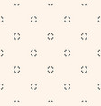 universal seamless pattern minimalist texture vector image vector image