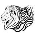 lion tattoo vector image