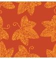 Tribal tattoo pattern Ivy leaf vector image