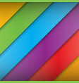 abstract colorful multicolor background vector image vector image