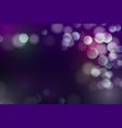abstract defocused bokeh background glitter vector image