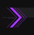 abstract violet neon light arrow direction geometr