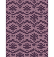 colorful damask seamless floral pattern vector image vector image