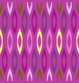 colorful tribal ikat seamless pattern vector image vector image