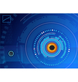 future technology digital background vector image vector image