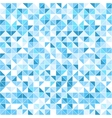 Geometric blue background - seamless vector image
