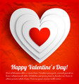 romantic lovely greeting background vector image vector image