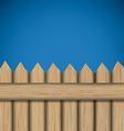 Wooden design vector image vector image