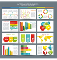Detail infographic World Map and Informatio vector image