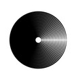 abstract round shape vector image