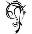 Art tattoo vector image vector image