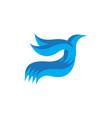 bird business company logo vector image vector image