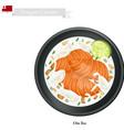 Ota Ika or Tongan Raw Fish in Coconut Milk vector image vector image