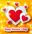 romantic colorful background vector image vector image