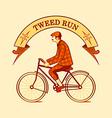 Tweed run symbol vector image vector image
