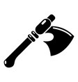 ancient ax weapon icon simple style vector image vector image