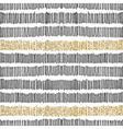 Black Gold Lines Seamless Pattern vector image