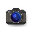camera icon flat photo camera isolated modern vector image vector image