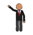 faceless businessman icon image vector image vector image