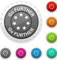 Go further award vector image vector image