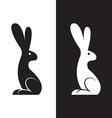 image a rabbit design vector image vector image