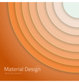 Material Design Abstract Circles Lines vector image vector image