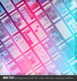 Modern high tech background design with a lot of vector image vector image