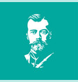 nicholas ii portraits of famous russian historical vector image vector image