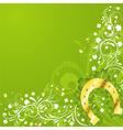 St Patrick's day frame vector image