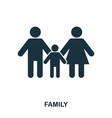 a family icon mobile apps printing and more vector image