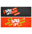 back to school special offer banners special vector image vector image