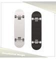 Design Skateboard vector image vector image