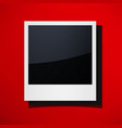 isolated photo frames vector image vector image