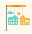 Real estate design concept vector image