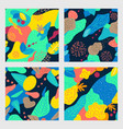 Abstract pattern with tropical leaves