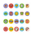 Education Colored Icons 11 vector image vector image