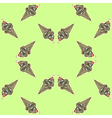 icecream pattern vector image