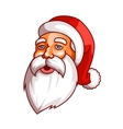 Santa claus emotions Part of christmas set Tired vector image vector image