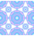 seamless pattern of abstract mandalas vector image vector image