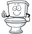Toilet vector image