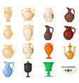 amphora amphoric ancient greek vases and vector image